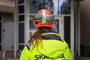 Det behövs fler välutbildade byggnadsarbetare då kompetensbristen i branschen är stor. Foto: Stina Stjernkvist/TT