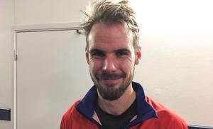 Mattias Hammarström var trots allt nöjd med två poäng.