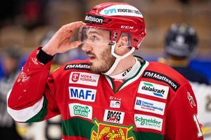 John Persson blickar framåt mot säsongen med nya laget SaiPa. Foto: Daniel Eriksson/BILDBYRÅN