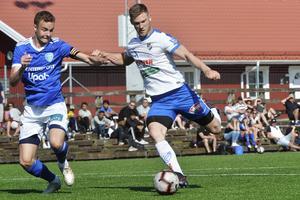 Oskar Nordlund gick mållös från från sommarmötet mot Umeå FC:s akademilag. I serieavslutningen blev det två mål för skyttekungen.