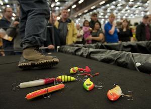 Imorgon är det dags för Sidsjös jakt- och fiskemässa och allt ifrån utställare till fiskdamm och barkväll erbjud. Foto: TT.
