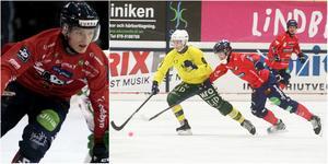 Oscar Wikblad gjorde fem av Edsbyns  mål när laget planenligt vann över Ljusdal.