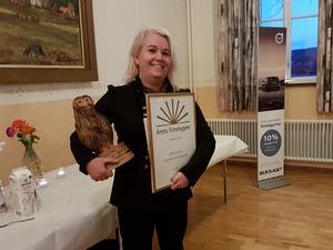 Sofie Almkvist har utsetts till Årets Företagare i Ockelbo 2019.