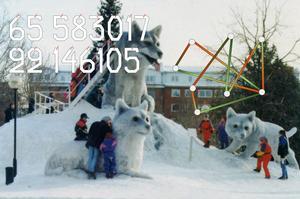 Luleåbiennalen pågår i Luleå, Boden, Jokkmokk, Kiruna och Korpilombolo. Pressbild. Foto: Luleåbiennalen