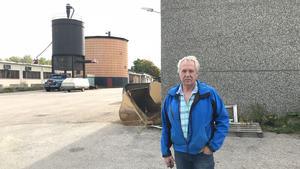 Kjell Eriksson köpte kommunens industrifastigheter i Ytterhogdal.