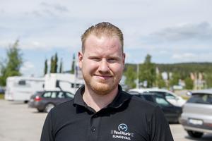 Gustav Andersson, 25 år, taxichaufför, Stöde: