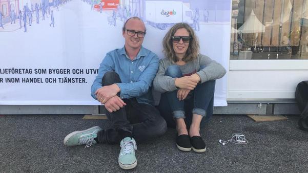 The Rockin' Pots grundare Jonas och Rosmari Hagström.