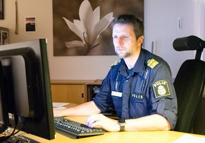 Polisområdeschef Kenneth Bergquist.