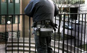 Det blir allt oftare nödvändigt med väktare.Foto:  Hasse Holberg/TT