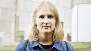 Rebecka Rosén, 32 år, landskapsarkitekt, Stockholm: – Nej det är jag inte. Jag tycker det är mäktigt att höra naturens makter.