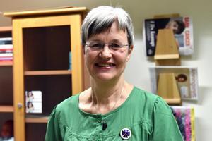 Eva Martinsson, distriktssköterska, upplever nu bättre arbetsmiljö.