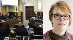 """Örebro kommunfullmäktiges möten är offentliga och finns också att se i efterhand på www.orebro.se – sök på """"webbsändningar"""".  Bilden är ett montage"""