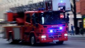 JUST NU: Larm om brand i lägenhet på Väster i Örebro