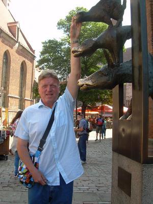Det blir mycket fotande när Jan Nordström är ute och reser. Foto: Privat