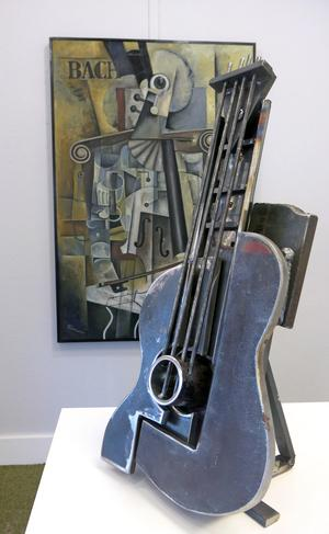 Utställningen har en tydlig prägel av den tidiga modernismen.