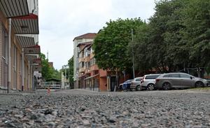 Flera gator i centrum ska återställas.
