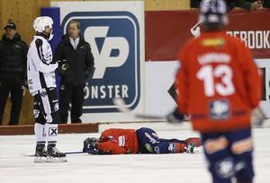 Daniel Välitalo är på bättringsvägen efter den hjärnskakning han fick i mötet med Sandviken.