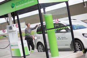 Gästrike Ekogas hoppas få besked om etableringen vid Teknikparken i juni.Foto: Gästrike Ekogas