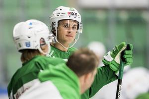 From gjorde 16 poäng trots en defensiv roll i AIK förra säsongen, och har bland annat även spelat i Rögle och Södertälje. Foto: Bildbyrån