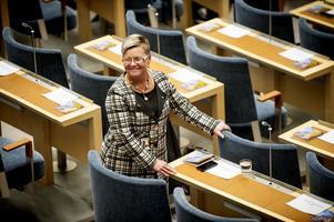 Ingela Nylund Watz sitter i både riksdagen och kommunfullmäktige. Hon är även ordförande för Socialdemokraterna i Södertälje.