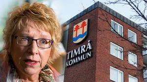Ewa Lindstrand (S) har aldrig varit med om så stora minussiffror i budgeten.