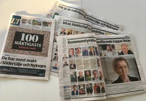 LT:s artikelserie om de 100 mäktigaste i Södertälje och Nykvarn.