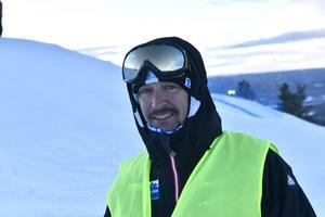 Dennis Franzén ansvarig för äventyrsutbildningen på Älvdalens äventyrsgymnasium.
