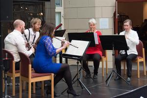 Nordiska Blåsarkvintetten i franska färger, den franska konserten till ära.