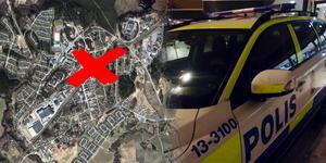 De misstänkta greps på Järna station. Rånet skedde på en gata några hundra meter därifrån. Bild: Google Maps &  Jan-Arne Bäckström/Arkiv