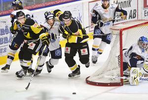 Möter nästjumbon. VIK Hockey möter Sundsvall borta i Gärdehov i eftermiddag. Gulsvart måste vinna för att drömmen om topp tre ska överleva.
