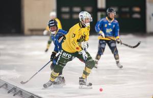 Mattias Blom gjorde två av målen när Ljusdal sänkte Rättvik med 6–3 på bortais.