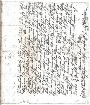 Källan till berättelsen är bland annat ett personligt brev som en kvinna vid namn Anna Larsdotter dikterat. År 1730 vid 73 års ålder lät hon länsman Erik Almeèn i Hedesunda skriva ner berättelsen på baksidan av en avskrift av det ovan nämnda brevet från kungen. Det blev ett testamente för henne och en viktig släktforskarlänk 280 år senare. Hon var barnbarnsbarn till Lars Persson.