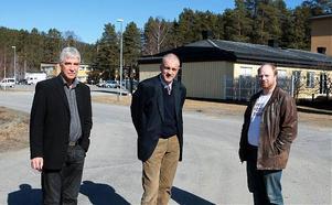 Dagons Paul Gerdin och Statkrafts Per Nordlund och Anders Hildebertzon är överens om en satsning i Sollefteå.