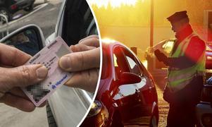 En man har dömts till dagsböter efter att ha kört bil utan giltigt körkort. OBS: Bilden är tagen i ett annat sammanhang.