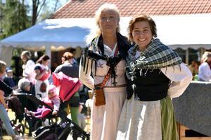 Anita Tenn och Malin Look Larsson arrangerade fäboddagen.
