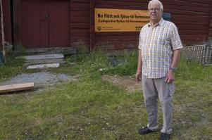 – No flött mö fjöse tä Fornminnes, säger Tage Persson.