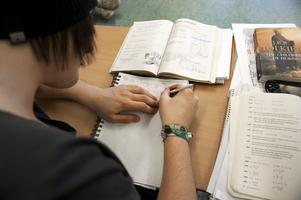Högre nivå. Spetsutbildningar i teoretiska ämnen på högstadienivå kan bli verklighet från och med höstterminen 2012.foto: scanpix
