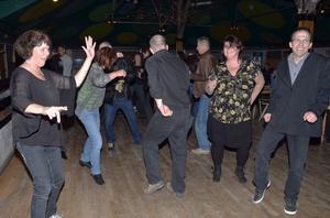 Dansgolvet i Säterdalens rotunda var oftast ganska tomt, men vid några tillfällen sprätte det i benen hos publiken.