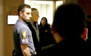 På onsdagen väcktes åtal mot Kima George, tidigare vd för Hemtjänst AB. Bilden är från häktningsförhandlingen i februari 2014.