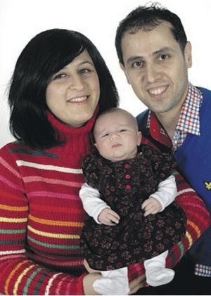 Shlair och Khabat Amin från Borlänge fick den 8 januari som heter Lia. Hon var 49 cm lång och vägde 3 101 gram.