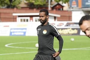 Ammar Ahmed kommer inte att spela i seriepilogen mot Trelleborg.