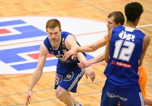 Gustav Hansson var tillbaka efter förra veckans magsjuka mot Malbas.