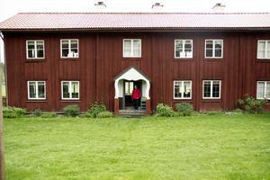 Världsarvsgården Kristofers i Järvsö tar normalt bara tar emot bokade turer men i helgen är det en av många gårdar som har öppet hus.