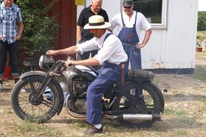 En Zündapp MC, en 350 cc från 1937.