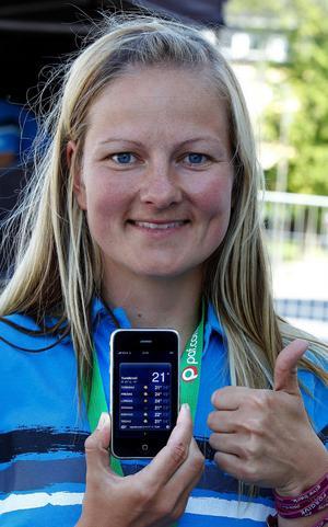 Isabella Rönnqvist, Sundsvall Volley, älskar att spela och jobba med beachvolleyboll.