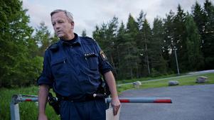 Mats Öhman, insatsledare hos polisen.