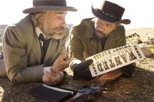 Christoph Waltz och Jamie Foxx spelar huvudrollerna i Quentin Tarantinos