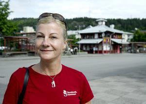 Ulrika Söderlund jobbar som handledare i missbruk, och är inriktad mot yngre missbrukare i åldern 18-25 år.