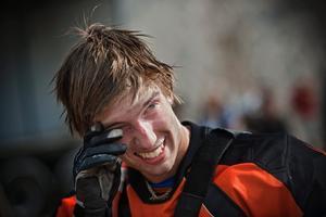 Johan Edlund säkrade guldet i JSM2-klassen genom att ta hem säsongens sista deltävling på sin förra hemmabana i Mullhyttan.