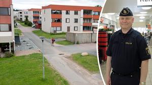 Officiell statistik säger att det bor omkring 3000 personer  på Tjärna Ängar. Kommunpolisen Erik Gatu menar dock att det handlar om cirka 10 000. Bilden är ett montage.